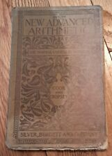 Key to New Advanced Arithmetic Cook and Cropsey 1900 NO RESERVE!!!!!
