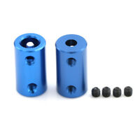 Aluminum Alloy 3D Printers Parts Blue Flexible Shaft Coupler Screw Part 5mm 8 Es