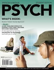 Psychology by Spencer A. Rathus (2008, Paperback, Student Edition of Textbook)