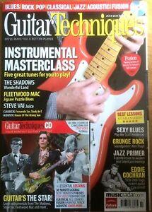 Guitar Techniques July 2010 UK magazine & CD