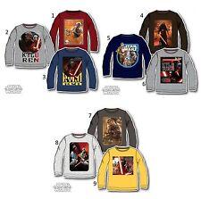 Disney Langarm Jungen-T-Shirts, - Polos & -Hemden aus 100% Baumwolle
