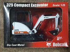Vintage 1/25 Scale Die Cast Metal Bobcat 325 Compact Excavator  #6901668