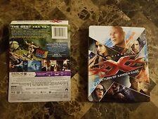 xXx: Return of Xander Cage (Blu-ray,Steel Book) No Dvd or Digital - Vin Diesel