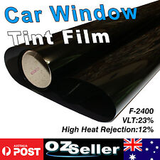 Window Tint Film 23% Black Metalized 151CM x 3M Roll Glass Car Home Office Bulk