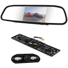 Rückfahrsystem Rückfahrkamera Nummernschild Rückspiegel Kennzeichen Auto für mit