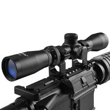 Hunting HD Optics 2-7x32  Long Eye Relief Scope w/ weaver Scope Rings & Cover
