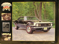 18 x 24 in DIGITAL PHOTOGRAPHY w FREE SHIPPING !!! SS 1968 Camaro 396 c.i