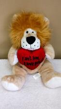 "14"" Plush Lion, ""I Love You,"" Toy, Doll, Stuffed Animal"