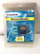 New & Sealed Fujifilm Smart Media  32MB Made in Japan NOS 1992