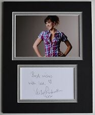 Verity Rushworth Signed Autograph 10x8 photo display TV Emmerdale Soap AFTAL COA