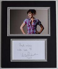 Verity Rushworth Signed Autograph 10x8 photo display TV Emmerdale Soap AFTAL COA