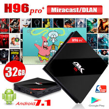 H96 Pro Plus Android7.1 Amlogic S-912 OctaCore 3+32GB 2.4+5.8G WiFi 4K TV BOX 3D