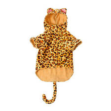 Claire's Halloween Leopard Pet Costume Small 6-10 lbs NWT