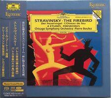 ESOTERIC STRAVINSKY Le Sacre du Printemps FIREBIRD SACD Hybrid Japan CD NEW