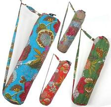 10 New kantha Quilt Yoga Mat bags wholesale Lot with Zipper India BG22