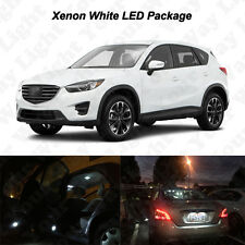 11 x White LED Interior Bulbs + Reverse + Tag Lights For 2013-2016 Mazda CX-5
