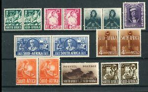 South Africa 1941-46 War Effort set SG88/94a MNH