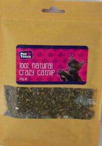 Catnip 100% Natural Crazy Catnip 30g e pouch