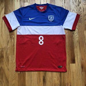 Men's Nike Team USA USMNT Clint Dempsey Bomb Pop World Cup Olympic Jersey Kit XL