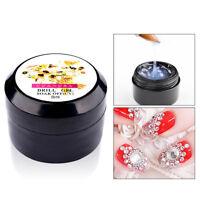 8ml Super Sticky Rhinestone Glue Adhesive Tip Manicure Nail Clear UV Gel Hot