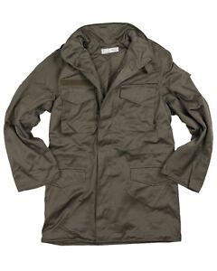Genuine Austrian Army M65 Field Jacket Military Olive Drab Coat Unused Surplus