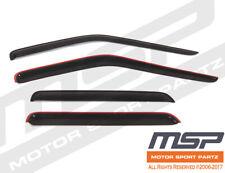 Rain Guards Sun Visor Deflector /& Sunroof Combo 5pcs For 2010-2014 Honda Insight
