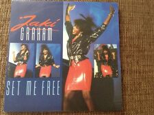 "Jaki graham- set me free - very near mint uk 7"" vinyl"
