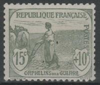 """FRANCE STAMP TIMBRE N° 150 """" ORPHELINS FEMME LABOUR 15c + 10c """" NEUF xx TTB N416"""
