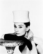 AUDREY HEPBURN AS HOLLY GOLIGHTLY FROM BREAK 8x10 Photo lovely pic 163833