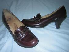 "SOFFT ""Cordelia"" Brown Leather Pump Heels Women's Sz 7M"