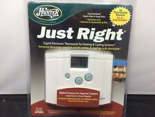 Hunter Thermostats For Sale Ebay. Hunter Just Right 47999 Digital Electronic Thermostat Heating Cooling Systems. Wiring. Hunter 5 Wire Thermostat Diagram 40135 At Scoala.co