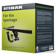 Kia Sportage 2010-2015 Typ SL Oris Anhängerkupplung abnehmbar /& 13pol E-Satz Kit