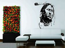Wall Car Decor Vinyl Sticker Decal Native American Indian Nature