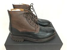 Oliver Sweeney Danby Leather Ankle Boots - Black/Brown - UK9/US10/EU43 RRP £269