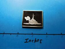 U.S.S. JOHNSTON WWII DESTROYER SHIP 1943 MEDALLIC AMERICAN FIGHTING SILVER BAR