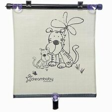 DreamBaby Double-sided Adjustable Car Window Roller Shade Tiger Print