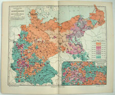 Map Of Germany 1900.Antique European Maps Atlases Germany 1900 1909 Date Range For