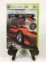 Project Gotham Racing 3 PGR (Microsoft Xbox 360, 2005) Complete with Manual