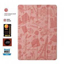 Ozaki TabletCase ipad air travel multi-Angle case parís funda bolsa cover Pink