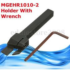 MGEHR1010-2 10X100mm CNC Lathe Holder Grooving Cut-Off Tool for MGMN200 Inserts