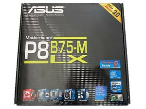 @ unbenutzt @ Asus p8b75-m LX Plus Socket 1155 Intel Motherboard 2nd/3rd Generation