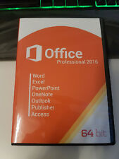 Microsoft Office Professional Plus 2016 für 1 PC mit DVD