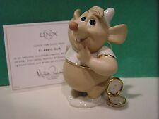 LENOX Disney GUS MOUSE Figurine  NEW in BOX with COA  - Cinderella