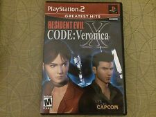 Resident Evil CODE: Veronica X (PS2) TESTED