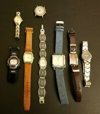 LOT 8 Women's Watches Fossil Timex Infinity Chronograph Express Geneva Appear