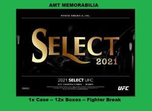 Vicente Luque 2021 Panini Select UFC 1x Case 12x BOX BREAK #1