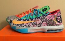 "NIKE KD What The KD VI 6 Premium SIZE 10.5 DS ""What The KD"" DS 669809-500"