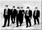 "BANKSY STREET ART CANVAS PRINT Reservoir Dogs 18""X 12"" stencil poster"