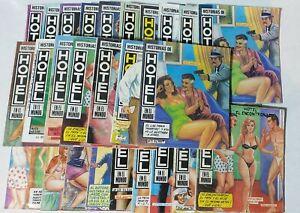 Historias de Hotel mexican comic spanish in color lot of 27