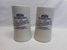 2 - 20 ounce Kulmbachen Edelherb Tapered Ceramic Steins